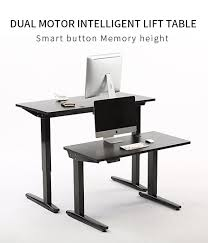 Electric Adjustable Desk by Ergonomic Electric Height Adjustable Table Leg Sit Stand Desk
