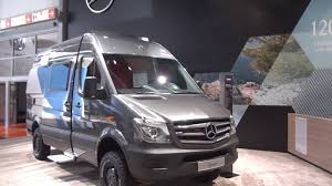 4x4 mercedes mercedes sprinter 4x4 cer at caravan salon