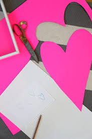 Valentine S Day Wall Decor Diy by Diy The Easiest Lopsided Heart Artwork Say Yessay Yes