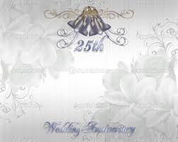 Silver Anniversary Invitation Cards Wedding Anniversary Invitation Background Unique Wedding