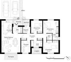 plan de maison avec cuisine ouverte plan cuisine ouverte luxe cuisine ouverte sur entree 11 plan avec