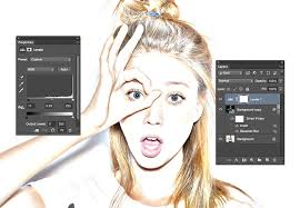 how to create a realistic pencil sketch effect in photoshop 67nj