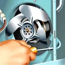refrigerator condenser fan appliance care replacing a refrigerator condenser fan motor