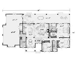 one floor plan one level floor plans 23 luxury ranch style e house plans