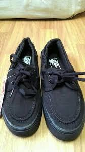 Jual Vans Zapato jual vans zapato black primanda store