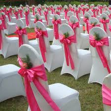 wedding chair cover drew home
