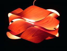 Wood Veneer Pendant Light Pendant Lights Articles With Diy Wood Veneer Pendant L Tag