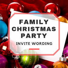 difference between thanksgiving and christmas family christmas party invitation wording
