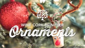 diy christmas ornaments wine cork ornaments fdoc