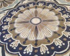 5 ft round turquoise area rug circular rugs 4 ft round floral