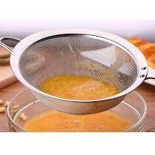 passoire de cuisine vente chaude en acier inoxydable passoires et tamis cuisine