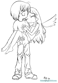 anime angel coloring pages colotring pages