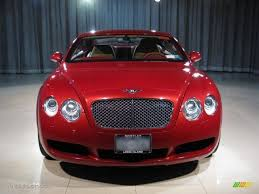 red bentley 2005 umbrian red bentley continental gt mulliner 12066510 photo