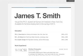 Premade Resume Best Wordpress Cv Resume Themes
