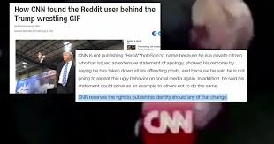 Meme Video Creator - cnn rocked by huge backlash after it blackmails creator of trump