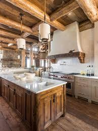 log cabin kitchen ideas log cabin kitchens houzz