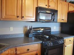 Kitchen No Backsplash Kitchen Backsplash How To Nest For Less