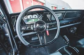 Chevy Nova Interior Kits Going All On Black With Marcus Walther U0027s Aggressive 1966 Chevy