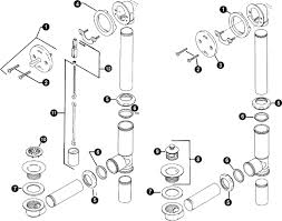 Parts Of A Shower Drain Standard Tub Drain Parts Bathtub - Kitchen sink plumbing fittings