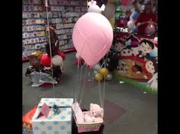 balloon gift hot air balloon gift basket