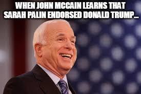 Sarah Palin Memes - sarah palin endorses donald trump imgflip