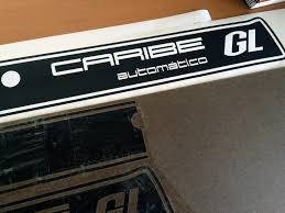vw rabbit caribe hatch stripe decal chris chemidl in