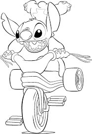 coloring download stitch and angel coloring pages lilo and stitch