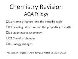 Atomic Structure And The Periodic Table Worksheet Answers by Aqa 2017 Gcse Chemistry Unit 1 Revision Worksheets With Answers By