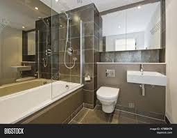 luxury bathroom white suite dark image u0026 photo bigstock