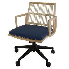 Rattan Desk Chair Modern U0026 Retro Office U0026 Desk Chairs Apt2b Com