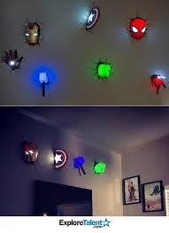 Toddler Superhero Bedroom Nightlights For Toddlers Room 9016