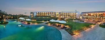 Mountain Lake Pool Design by Royal Tulip Gunung Geulis Golf Hotel In Bogor