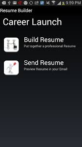 Best Resume Builder App Iphone by Amazon Com Resume Builder Pro Appstore For Android