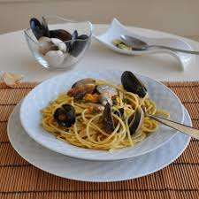 Romantic Dinner At Home by Cooking With Manuela Spaghetti With Clams And Mussels