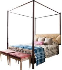 perriand 4 poster bed contemporary transitional rustic folk