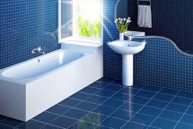 epic blue bathroom floor tile on diy home interior ideas with blue