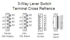 3 way lever switch question