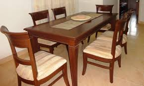 Dining Room Table With 6 Chairs Used Dining Room Table With 6 Chairs