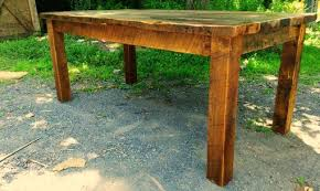 Shenandoah Farm Tables Buy A Hand Crafted Antique Reclaimed Wood Farmhouse Dining Table