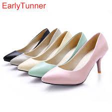 light blue womens dress shoes brand new sweet black pink beige light blue women pumps