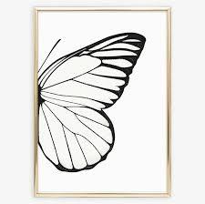 right butterfly wing poster tales by jen