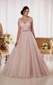 champagne pink wedding dress naf dresses