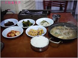 cuisine ind駱endante 首爾 128 421東大門站 烤魚一條街 나주식당的傳統청국장씨개與烤鯖魚