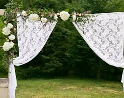wedding arch lace how to decorate a wedding arch with flowers