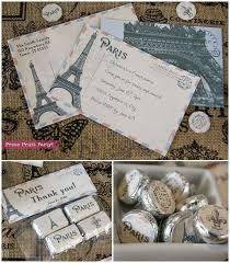 Paris Themed Party Supplies Decorations - 25 unique paris invitations ideas on pinterest paris