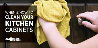 How To Clean Kitchen Cabinets When U0026 How To Clean Kitchen Cabinets