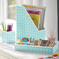 cute desk organizer tray peyton desk accessories set pool peyton pbteen