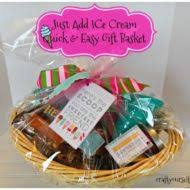 Ice Cream Gift Basket Fast Simple Gift Ideas Archives Craft