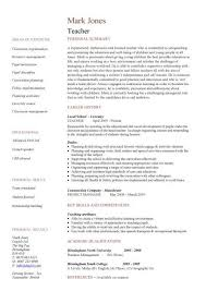 resume format for teaching job  template free word    s templates     Educator Fights Back     Letter Of Recommendation For Teacher Of The Year
