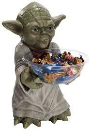 yoda halloween candy bowl holder yoda decorations star wars